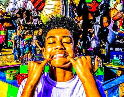 Carnival Pose