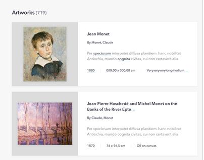 Artwork Portal