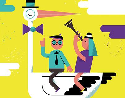 Illustrations for Cultured Kids