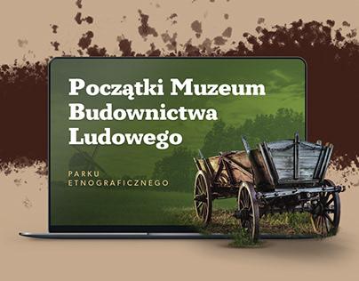 MUSEUM OF FOLK ARCHITECTURE WEBSITE