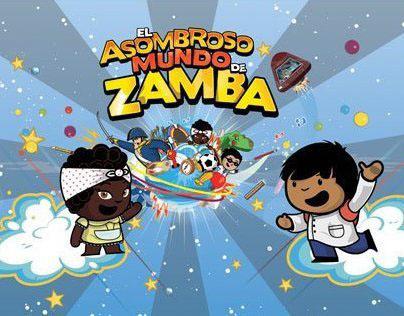 El asombroso mundo de Zamba - Serie animada