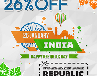 Happy Republic Day Offer Mailer