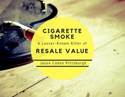 Cigarette Smoke: A Killer of Resale Value