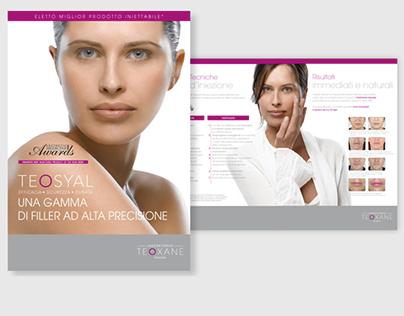 Teoxane marketing tools for italian market-2010