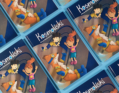 Cosmofoxes - book for children