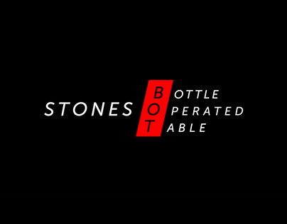 Stones BOT - The Bottle Operated Table (2017)