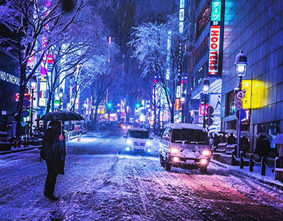 Neo Saul Leiter / Neo Tokyo