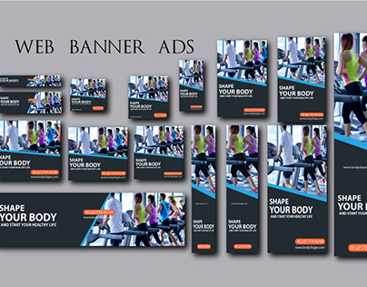 Google Ads/ Web Banner Ads Design