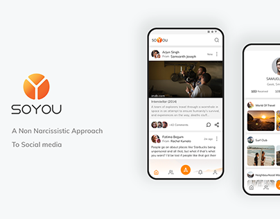 Soyou - Social Network For Sharing About Your Friends.