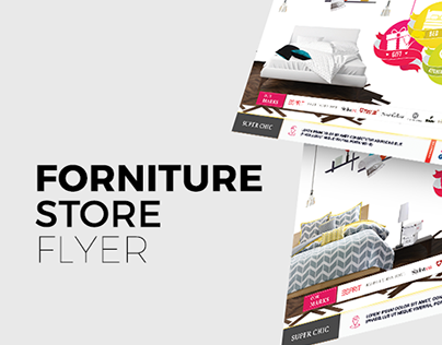 Forniture Store Flyer