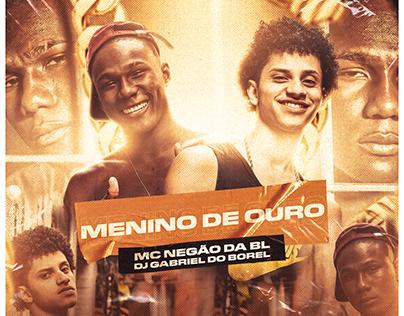 CAPA SINGLE | MENINO DE OURO