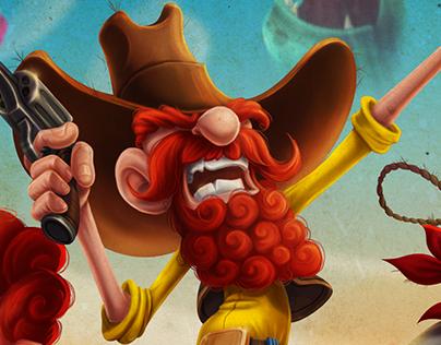 """""""Ginger Rangers"""" Game Artwork"""