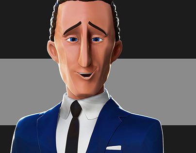 Businessman of movie The Incredibles 2