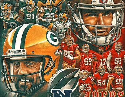 Packers vs 49ers NFC Championship