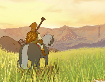Link and his Horse
