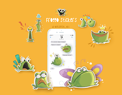 Froggos sticker pack