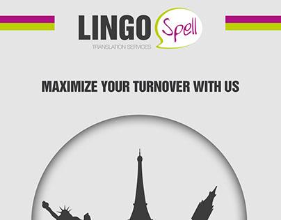 LingoSpell - Testi e progettazione brochure