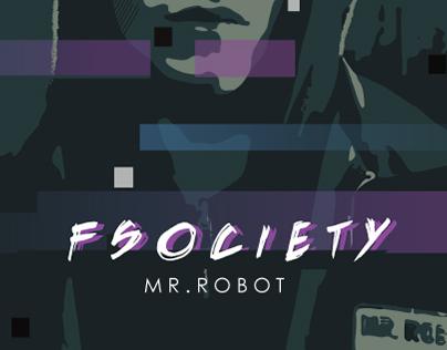 // fsociety00.dat // Mr. Robot Illustration //