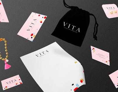 Vita - Joyas Poliméricas | Branding
