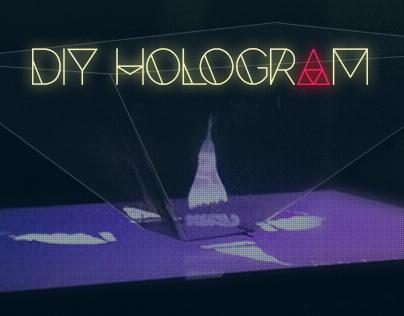 DIY Hologram Pyramid