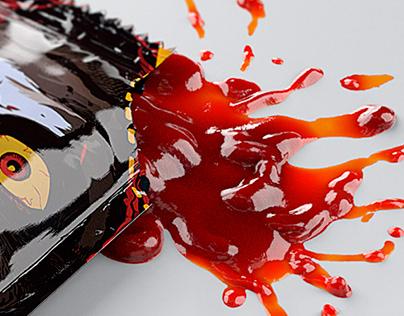 3D • Burger King • Ketchup Packs • EUROPE