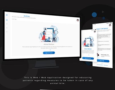 Animal Bite_Web App UI Design