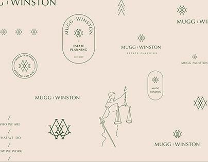 Mugg Winston Brand