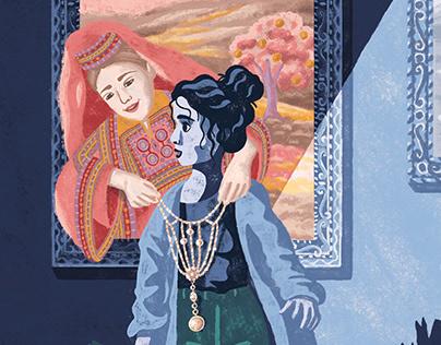 Seti el Falastiniya-Illustration with Hanane Kai Studio