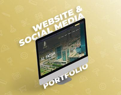 Builders Developers Website & Social Media Post