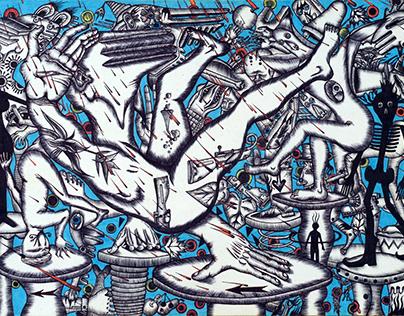 Bustle of Bustle (2010)#gruzinshternstanislav #art #psy