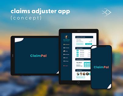 Claims Adjuster App