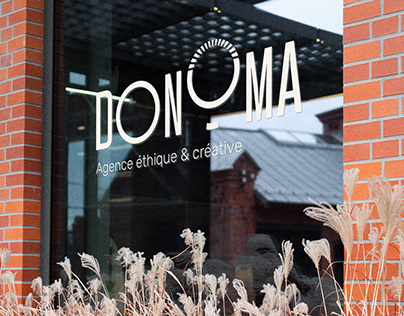 Donoma Agency — Visual Identity