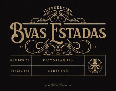 Bvas Estadas Victorian Serif Typeface