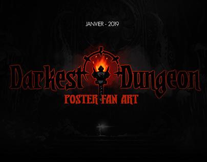 DESIGN / Poster fan Art Darkest Dungeon