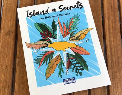 "Editorial Design and Illustration, ""Island of Secrets"""