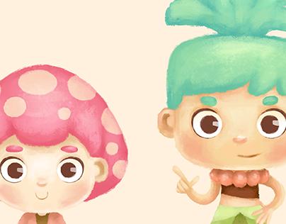 Mushroom & Coconut