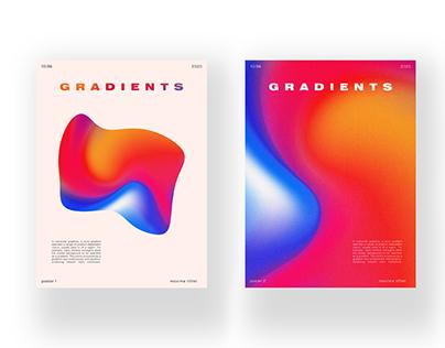 Gradients / Posters
