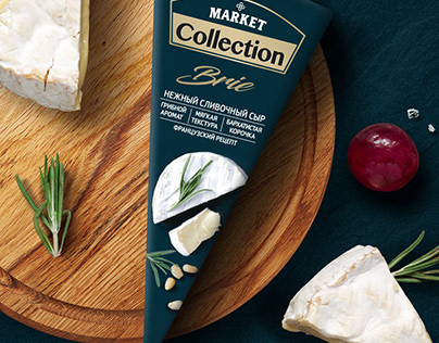 Market Collection - a collection of premium cheeses.
