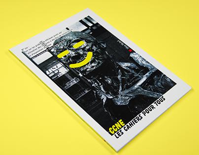 Les cahiers du CCNE [editorial, graphic design]