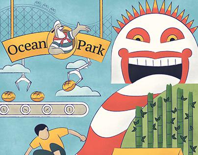 The Future of Ocean Park Illustration