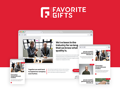 Favorite Gifts - Complete Website