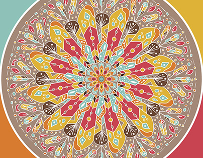 Mandala Boho Style
