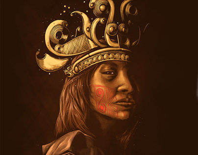 precolumbian queen