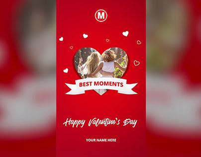 Instagram Valentine Love Stories