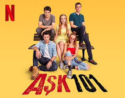 Netflix Love 101 / Aşk 101 - Key Art & Launch