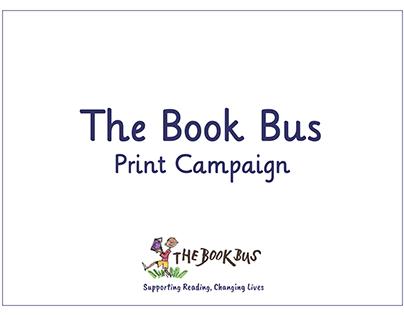 The Book Bus Print Campaign