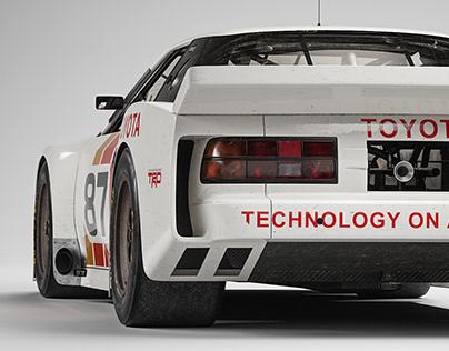 Celica GTO high poly - work in progress