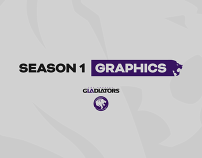 LA Gladiators - Season 1 Graphics