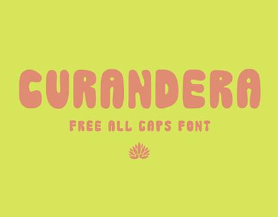 Curandera - Free Bold Display Font