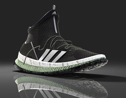 4d Futurecraft + Boost Adidas Concept